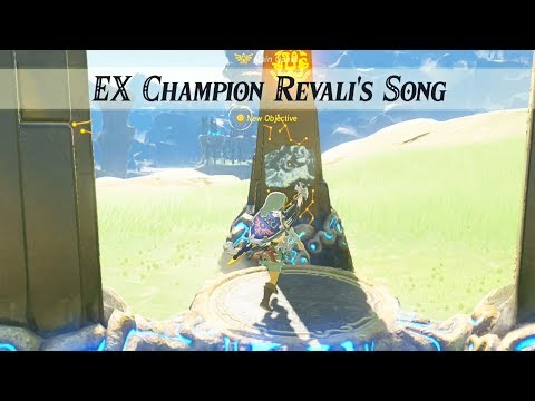 Zelda Breath of the Wild – Champions Ballad – How to Solve Champion Revali's Song