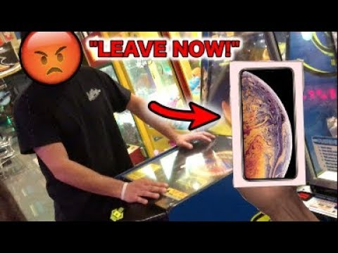 CRAZY MANAGER YELLS AT ME FOR WINNING Apple iPhone XS!! | JOYSTICK