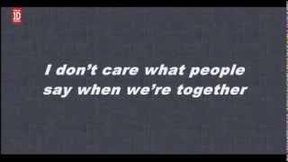 One Direction Happily Lyrics