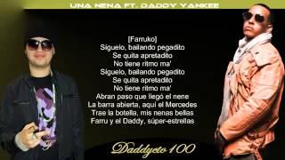 Farruko   Una Nena Ft  Daddy Yankee Farruko Edition) (Con Letra)