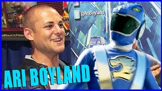 Ari Boyland POWER RANGERS RPM Interview - LBCC 2015