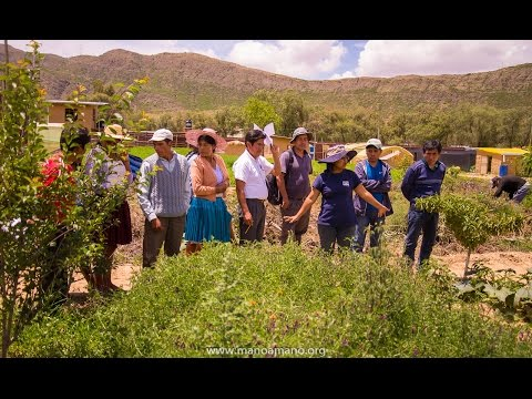 On Wednesday, January 18th, 2017 Mano a Mano hosted a workshop for 14 community leaders from Lapiani, Tapacari Province, Cochabamba Department, Bolivia. The workshop focused on methods for caring for the environment, along with principles of ecological agriculture.