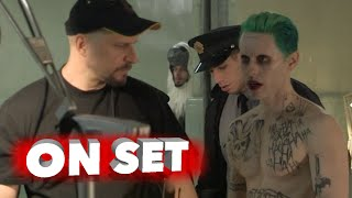 """Suicide Squad: Behind the Scenes Movie Broll of Jared Leto """"The Joker"""""""