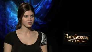 Alexandra Daddario Interview -- Percy Jackson: Sea of Monsters | Empire Magazine