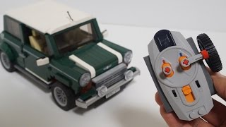 Lego 10242 RC Motorized MINI Cooper (레고 미니쿠퍼 RC) By 뿡대디