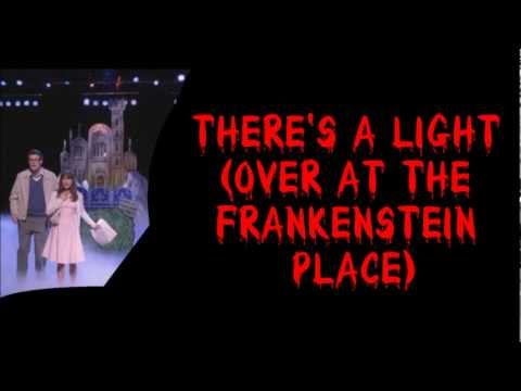Glee - There's A Light (Over At The Frankenstein Place) (Lyrics) HD