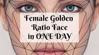 Female Golden Ratio Face Strong Affirmations