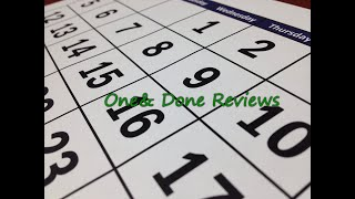 One and Done Review -- 1 Month Review
