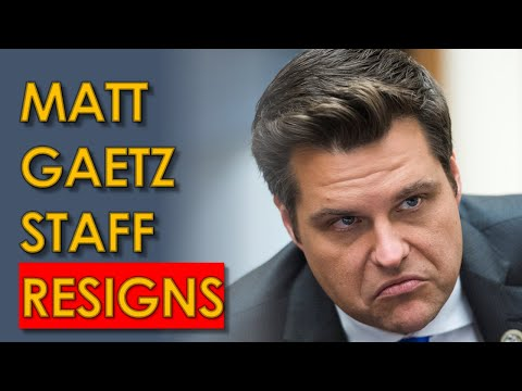 Matt Gaetz Staffer RESIGNS as Fox News IGNORES Him Entirely