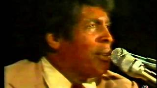 Charles Brown - I Don't Know - (1974 Live Video)