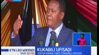 Gavana Alfred Mutua aunga mkono Rais Kenyatta