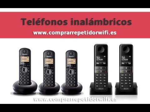 Mejores Telefonos Inalambricos Fijos y Baratos
