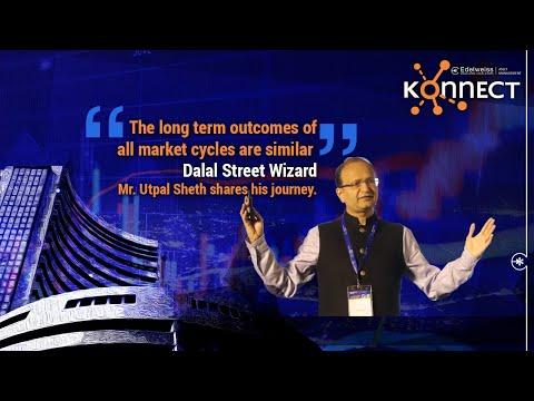 How did Utpal Sheth, CEO, Rakesh Jhunjhunwala's RARE Enterprises find the Titans. #EdelweissKonnect