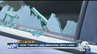 How thieves are breaking into cars