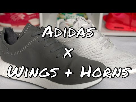 Adidas x Wings + Horns NMD R2 Pack