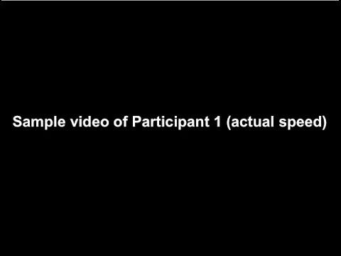 View UTS Walking Patterns Video