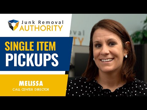 Are SINGLE ITEM PICKUPS a Waste Of Time for Your Junk Removal Business?