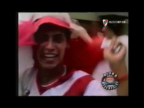 """""""Hinchada Riverplatense en La Boca -  Apertura 1994"""" Barra: Los Borrachos del Tablón • Club: River Plate • País: Argentina"""