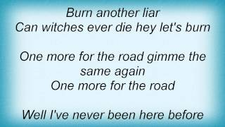 Dio - One More For The Road Lyrics