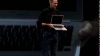 MacBook Air Introduction by Steve Jobs