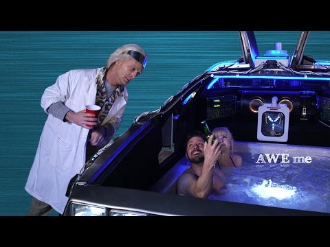 DeLorean Hot Tub Time Machine