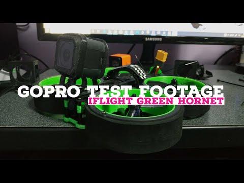 iFlight Green Hornet Cinewhoop - Gopro Test Footage - Reelsteady - Warp Stabilization