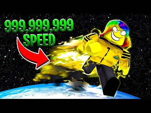 I BECAME THE FASTEST IN THE WORLD.. (Roblox)
