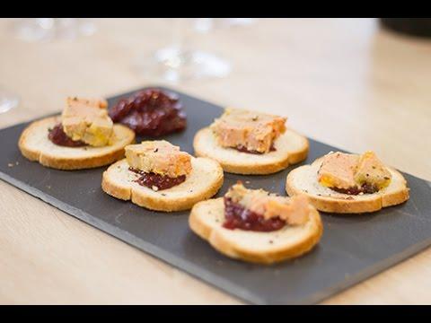 comment ouvrir verrine foie gras