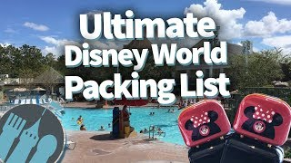 Ultimate Disney World Packing List!