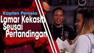 Seusai Pertandingan Lawan Arema FC, Kapten Persela Lamar Sang Kekasih di Hadapan Ribuan Penonton