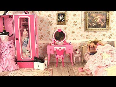 Barbie Bedroom Morning Routine • Barbie Glam Vanity • Dream Princess Aurora