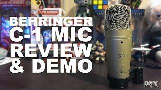 Behringer C-1 Large-diaphragm Condenser Microphone