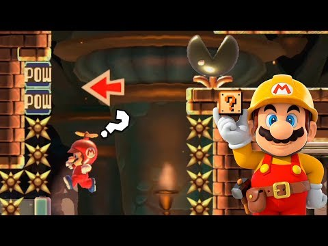 Un Inicio Muy Ingenioso ! - TOP Super Expertos | Super Mario Maker