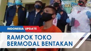 Pria Pengangguran Rampok Toko di Banyuasin, Ancam Bunuh Korban Meski Tak Bawa Senjata
