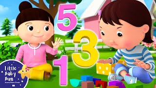 Learn to Count 123 Song | Calming Baby Meditation | Little Baby Bum - New Nursery Rhymes for Kids