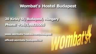 preview picture of video 'Wombat's Hostels, Budapest - Image video'
