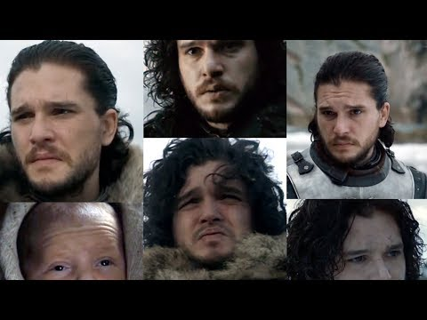 Game of Thrones but only closeups of Jon Snow looking grim and every time it speeds up by 2%
