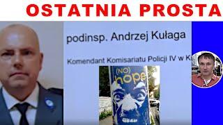 #OSTATNIA PROSTA! Za wiedzą podinsp. A.Kułagi gromadzę dowody na Morawieckiego!