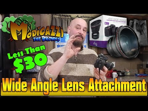 Review and Unboxing 55MM 0.43x Altura Photo Professional HD Wide Angle Lens for Nikon and Sony