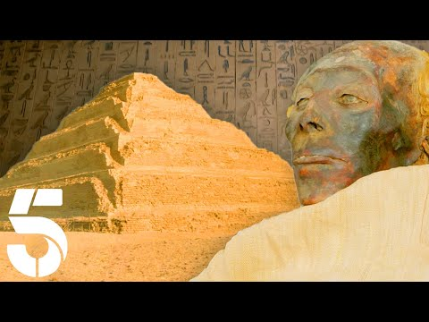 Ever Wondered What's Inside Egypt's Great Pyramids?