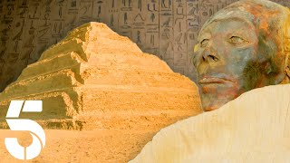 Inside The First Ever Pyramid of Egypt | The Nile: Egypt's Greatest River | Channel 5#AncientHistory