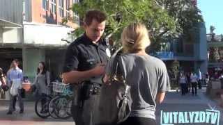 Cop Picking Up Girls Prank!