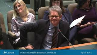 Pension & Health Benefits Committee - Part 1 on December 17, 2019