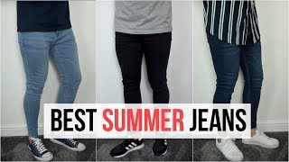 BEST MENS SKINNY JEANS FOR SUMMER 2019 | 3 Easy & Simple Outfits | Mens Fashion