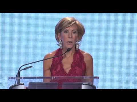 Kathy Giusti speaks at the 2014 MMRF Gala