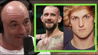 Joe Rogan - Logan Paul is a Better Fighter Than CM Punk
