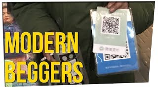 Chinese Beggars Now Accepting Mobile Payments ft. Steve Greene & Gina Darling
