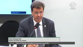 TURISMO - Planos e Programas do Ministério do Turismo para o ano de 2021 - 05/08/2021 10:00