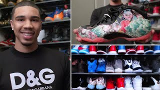 Jayson Tatum's Rare Sneaker Collection | Collected | GQ Sports