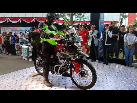 prosesi-pelepasan-gunadi-menuju-himalaya-bawa-viar-vortex-250cc